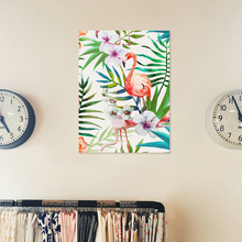 Green Plant Flamingo Canvas Painting Nordic Office Poster Print Modern Wall Picture Bedroom Livingroom Art Mural Home Decorative