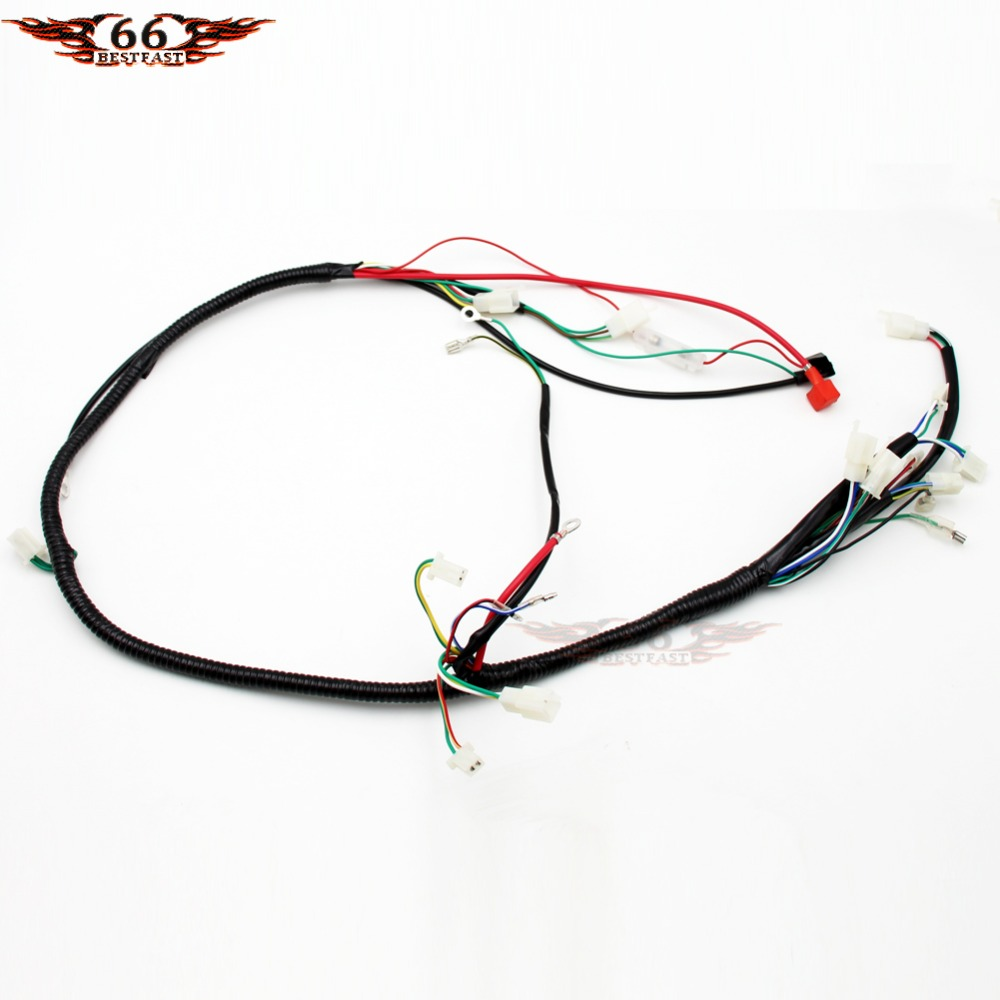 Engine Wiring Harness Loom For Scoote Gy6 125cc 150cc Quad Bike Atv Atomik Buggy New In Motorbike Ingition From Automobiles Motorcycles On