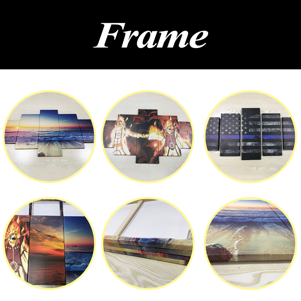 HTB1GD8SjlcHL1JjSZFBq6yiGXXat Decoration Posters Modular Picture On Canvas Wall Art Home 5 Panel Firefighter Living Room Modern HD Printed Painting Framed