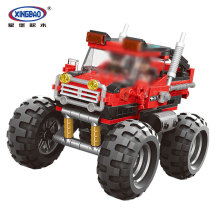 XingBao 03025 331Pcs Car Series The super big foot car Set Building Blocks Bricks For Kids Educational Funny Kids Gifts Model стоимость
