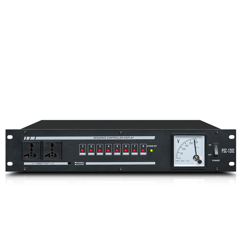 PSC 120 power supply sequence automatic power strip effective protection switch to improve stability 8 socket current regulator Stage Audio     - title=