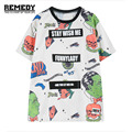 womens harajuku short sleeve tee top women loose tops for woman street style oversized tees devil tshirt plus size white t shirt