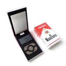 ขนาดเล็กP Ocketอิเล็กทรอนิกส์ขนาดเครื่องประดับดิจิตอลสำหรับบุหรี่ทองกล่องน้ำหนักสมดุล0.01 200กรัมน้ำหนัก