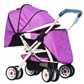 Widen Baby Stroller Two-Way Four Wheels Baby Cart Lightweight Foldable Children Strollers Prams Pushchair Infant Buggy