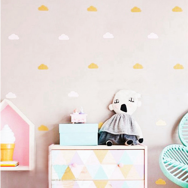 Nice Gold Cloud Wall Decal Stickers ,White Cloud Wall Decals, Cloud Nursery  Decor Free Shipping In Wall Stickers From Home U0026 Garden On Aliexpress.com |  Alibaba ...