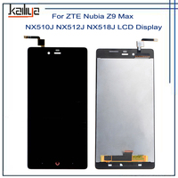For ZTE Nubia Z9 Max NX510J NX512J NX518J LCD Display 5 5 Inch Black Touch Screen