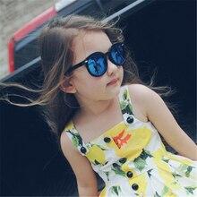 Mecol 2016 Kids Sunglasses Children Boys Girls Sun Glasses Child Plastic Frame Rivet Colorful Goggles SHADES Eyewear