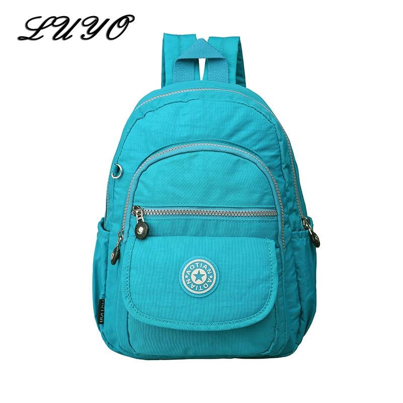 2019 Fashion Waterproof Travel Female Small Backpack For Teenagers Girls Women Sac A Dos Schoolbag Bagpack Sack Kipled School