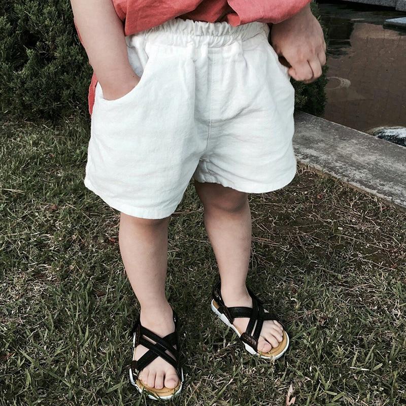 100% Wahr Neue Kinder Sommer Kinder Baumwolle Crepe Shorts In Sommer Shorts Baby Jungen Und Mädchen Hose