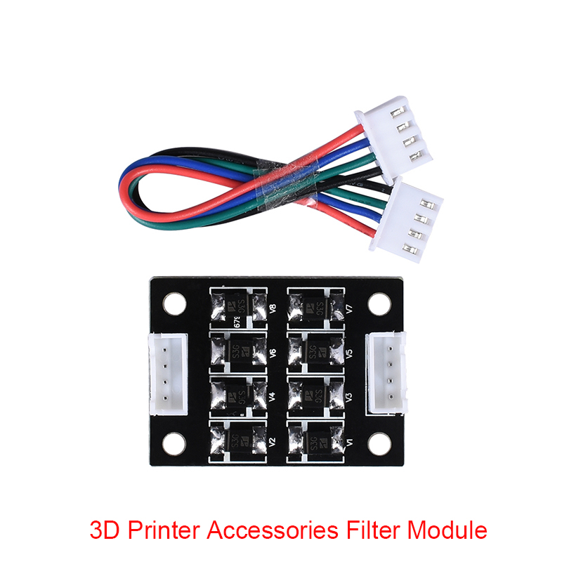 4pcs BIG TREE TECH New Arrival TL-Smoother V1.0 New Kit Addon Module For 3D Printer Motor Driver For 3D Printer Parts pittman motor for liyu pm 3212 printer motor 9234c140 r5 printer parts page 1