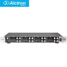 HP400 Alctron Professional 4 Canal Amplificador de Fone De Ouvido multifuncional, Amplificador de auscultadores, Pro Headphone Amplifier