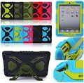 Pepkoo Spider Extreme Military Heavy Duty Waterproof Dust/Shock Proof with stand Hang cover Case For iPad 2 3 4,