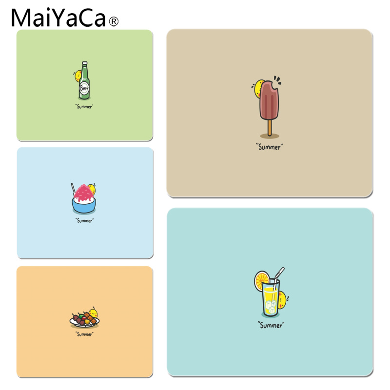 MaiYaCa Summer Simplicity Large Mouse pad PC Computer mat Size for 25X29cm Gaming Mousepads
