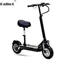 Daibot 10 дюймов мощный электрический велосипед 48 в два колеса, электроскутеры Максимальная скорость 60 км/ч складной электрический скутер 1000 Вт