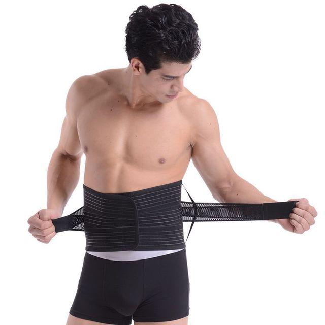 Waist Support For Belts Belt Lumbar Brace Breathable Back Therapy Absorb Sweat Fitness Sport Protective Gear Soporte de cintura 3
