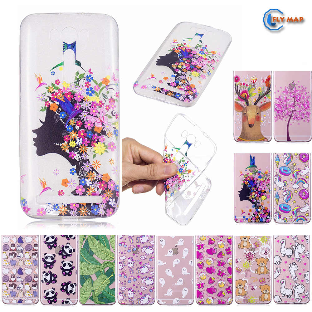 Fitted Case for ASUS Zenfone 2 Laser ZE500KL ZE 500KL Soft TPU Silicone  Cover Phone Case 6ecfadb9de41