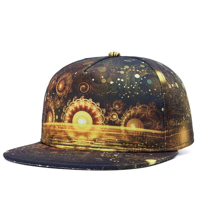 Harajuku verão Snapback Gorras beisebol moda boa de aba larga chapéu boné Hip hop ajustável 3D tampas de osso