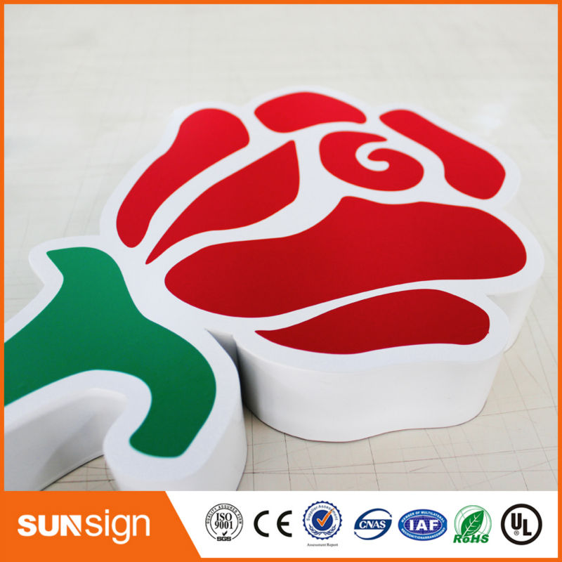 Online Design Signage Wholesale Illuminated Business Signs Acrylic