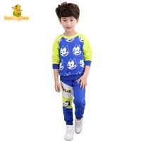 DancingBear Sonbahar çocuk Giysi Boş casual Çocuk giyim Kazak Setleri çocuk boys giyim