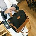 Luxury Brands Designer 2017 Women High Quality Totes Handbags Patchwork Oxford Textile Large Pillow Bag Shoulder Messenger Bags