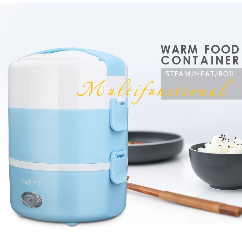 mini rice cooker electrical heating bento box potable electric heating cooking lunch box cabinet. Black Bedroom Furniture Sets. Home Design Ideas