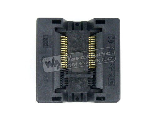 SSOP28 TSSOP28 OTS-28(44)-0.65-02 Enplas IC Test Burn-in Socket Programming Adapter 0.65mm Pitch 6.1mm Width ssop28 to dip28 b tssop28 enplas ic test socket programming adapter 0 65mm pitch