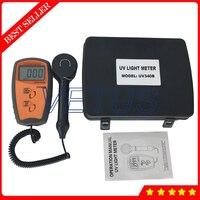 UV340B Digital UV intensity meter with 280~380nm UV Lux/Light Meter UVA UVB Detector Tester