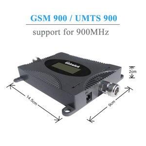 Image 3 - Lintratek gsm 900 mhz celular amplificador repetidor de reforço de sinal display lcd mini tamanho telefone celular gsm impulsionador conjunto yagi antena @