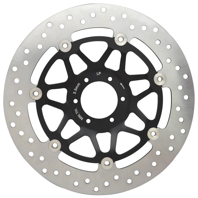 Motorcycle Front Left Brake Disc Rotor RS125 RS125R RS250R CB400 CBR400RR CBR600 CBR900RR RVF400 VFR400 VFR750 VTR1000 CBR400F