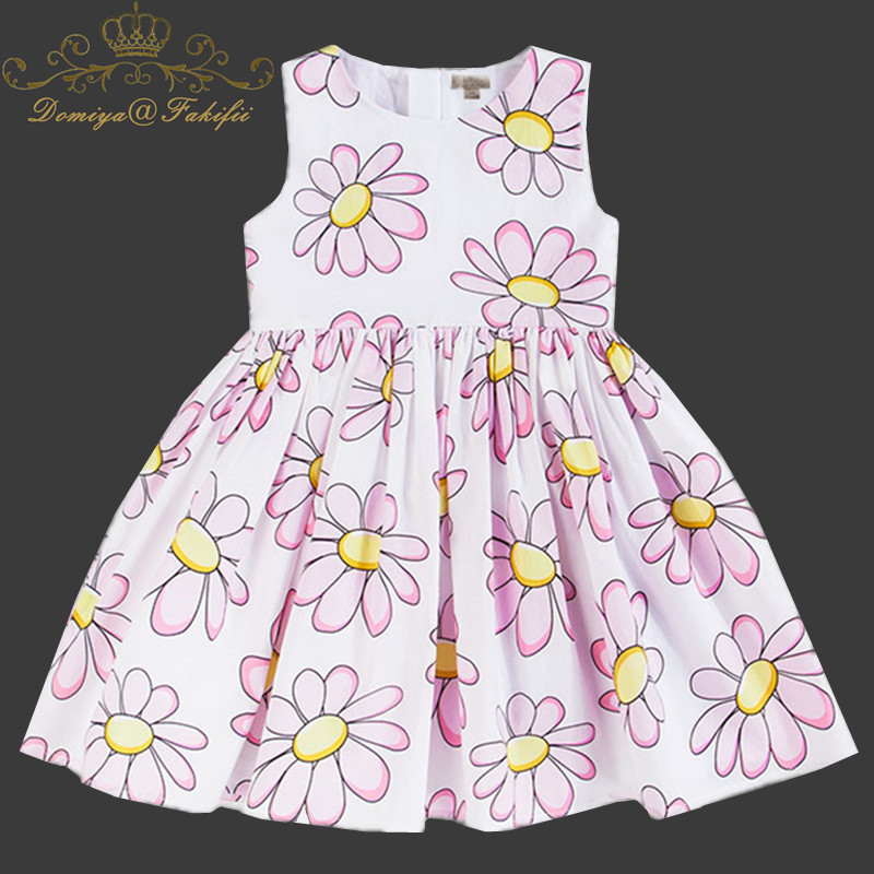 Flower Girl Dress For Wedding Baby Girl 2-8 Years Birthday Outfits Children's Girls Princess cotton Dresses Girl Kids Party Wear baby princess girl wedding birthday