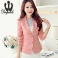 2016 Autumn Winter Women Jacket long-sleeved Suit Blazer OL jacquard jacket Short Design Slim Women coat outerwear
