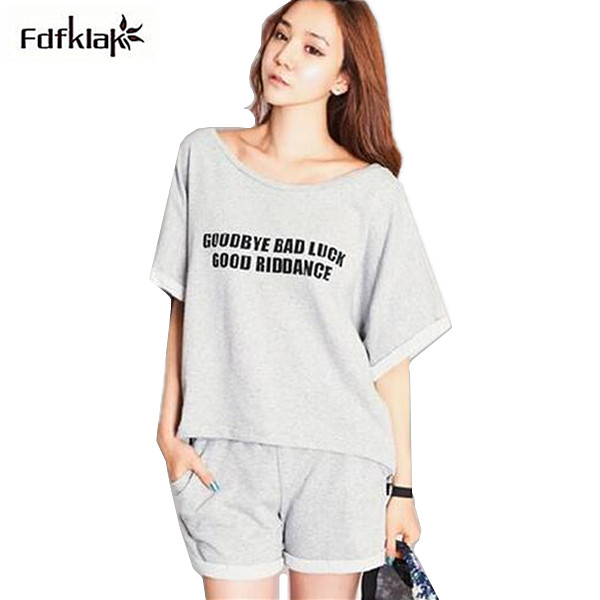 Home Clothes For Women Sleepwear Shorts Sets Summer Style