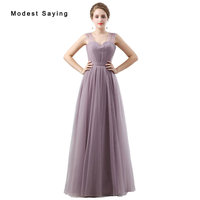 Elegant Purple A Line Sweetheart Pleated Evening Dresses 2017 with Straps Formal Girls Long Maid of Honor Dress Party Prom Gowns