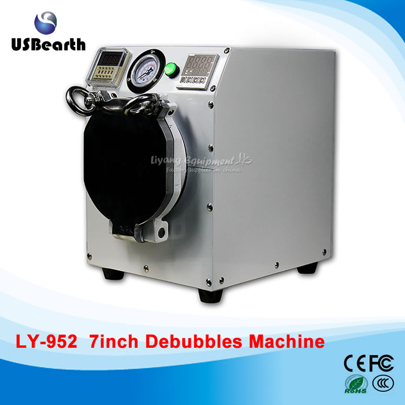 220V/110V LY 952 MINI Bubble OCA defoam machine (Need use with air compressor together),Free tax to EU semi auto lcd repair machine ly 948v 3 oca pack c for 7 inch free tax to europe