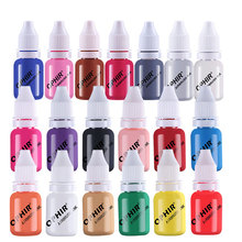 OPHIR Nail Polish Airbrush Painting Art Paint Ink for Water Based TA098(1-19)