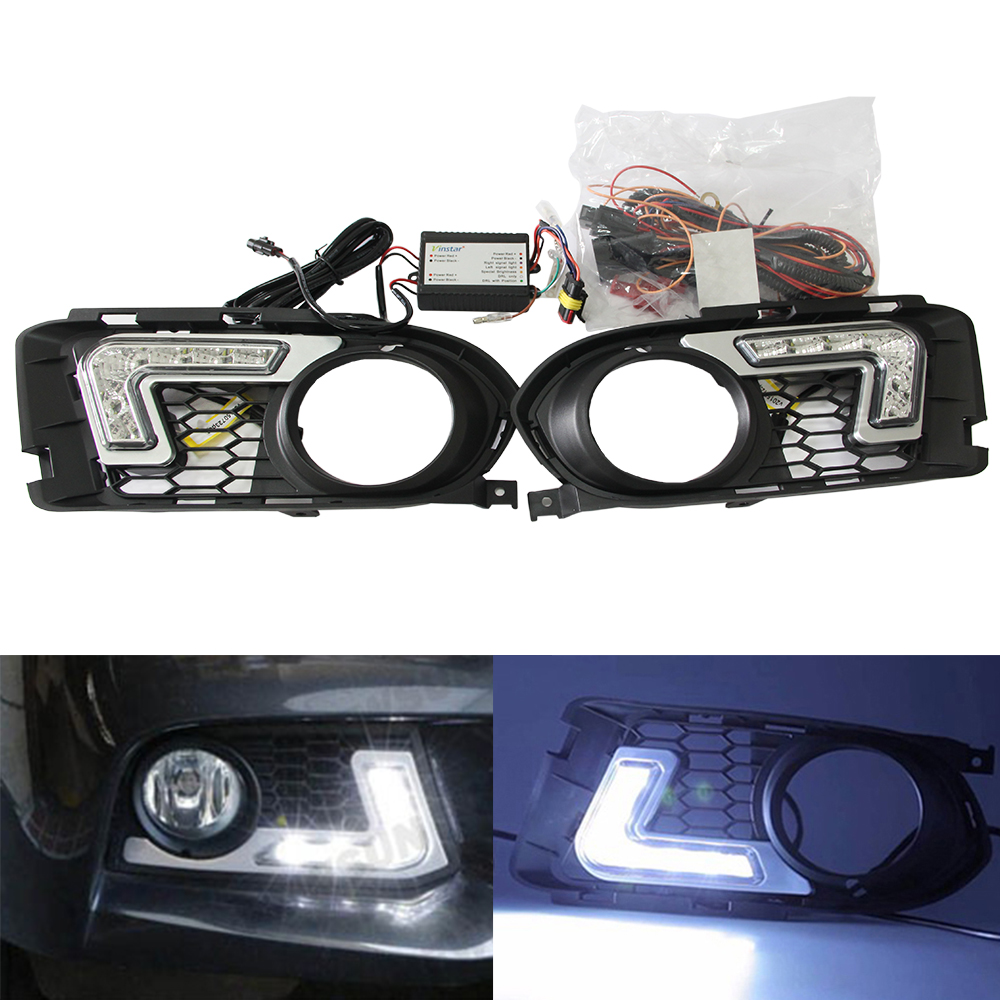 Special Led Daytime Running Light Car Driving Front Bulb for BMW E92 E93 3Series LED DRL Daylight Kit Super White cawanerl car 5630 smd led bulb led kit package white truck dome map trunk license plate light for 2009 2016 dodge ram 1500