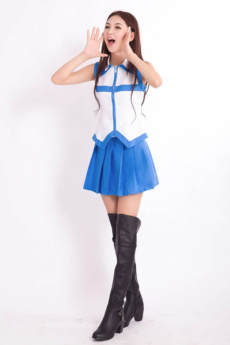 Japanese Anime Fairy Tail Lucy Heartfilia Milky Way Costume Comic Fairy Tail Cosplay Blue Dress on Aliexpress.com | Alibaba Group  sc 1 st  AliExpress.com & Japanese Anime Fairy Tail Lucy Heartfilia Milky Way Costume Comic ...