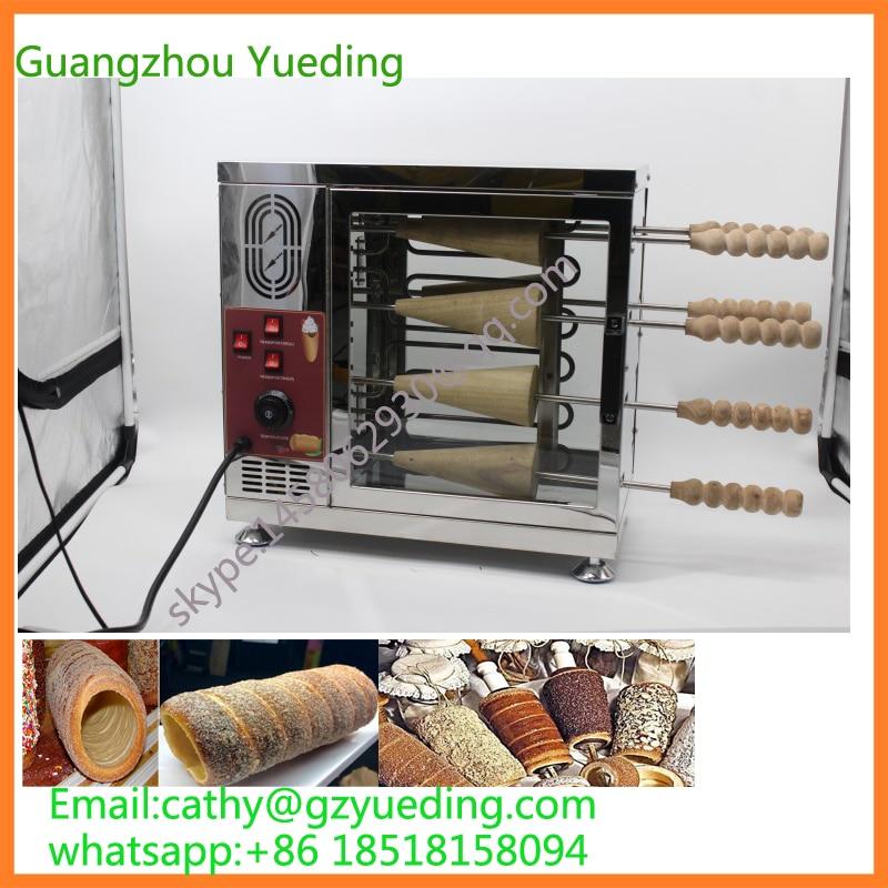 Промышленная машина для печки тортов в дымоходе/машина для мороженого в рулоне хлеба из нержавеющей стали