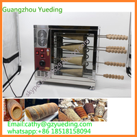 commercial chimney cake oven machine/stainless steel bread roll ice cream machine