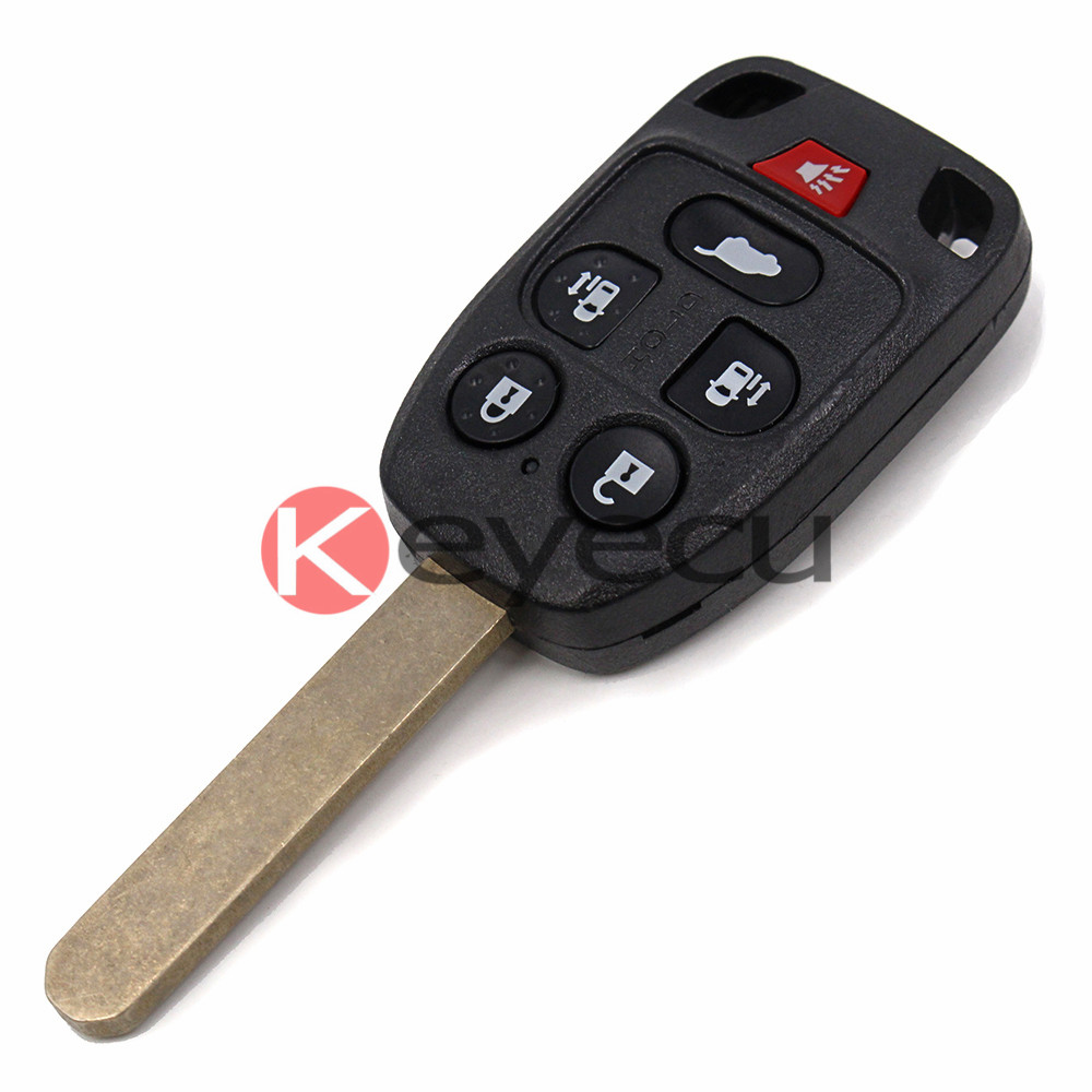 2pcs lot remote key fob 313 8mhz 6 button for honda odyssey 2011 2013 fcc id n5f a04taa ic 3248a a04taa