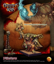 WFB Orc Orc shaman 28 มม.