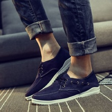 2017 New Solid Color Fashion Men Casual Shoes Hot Sales Brand Men Shoes Canvas Free Ship Breathable Outdoor Shoes Men N01