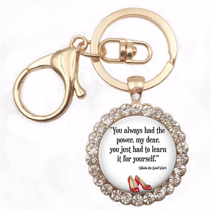 c15690531a US $2.68 |You Always Had the Power Key Chain Wizard of Oz Metal Accessories  Fashion crystal keychain-in Key Chains from Jewelry & Accessories on ...