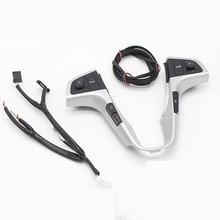 Для hyundai VERNA SOLARIS переключатель кнопки управления звуком звука и музыкой с Bluetooth Телефонная звуковая подсветка