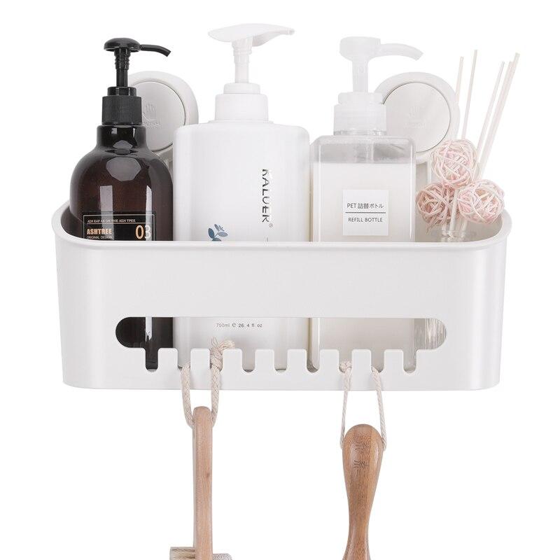 TAILI Titular Removível Banheiro Prateleira Cesta Chuveiro de Plástico para Shampoo/Danos Livre Acessórios Do Banheiro de Montagem Na Parede Do Dormitório