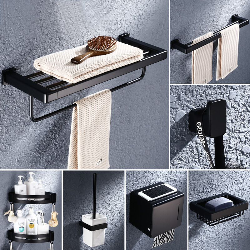 Top 9 Most Popular Zinc Bathroom Accessories Set List And Get Free Shipping D0c5a5hbh