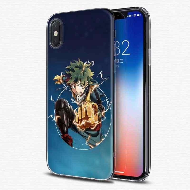 Mein Hero Wissenschaft Weichen Silikon Telefon Zurück Fall Für Apple iPhone 6 6S 7 8 Plus X XS MAX XR 5S 5C SE 5 Abdeckung Coque