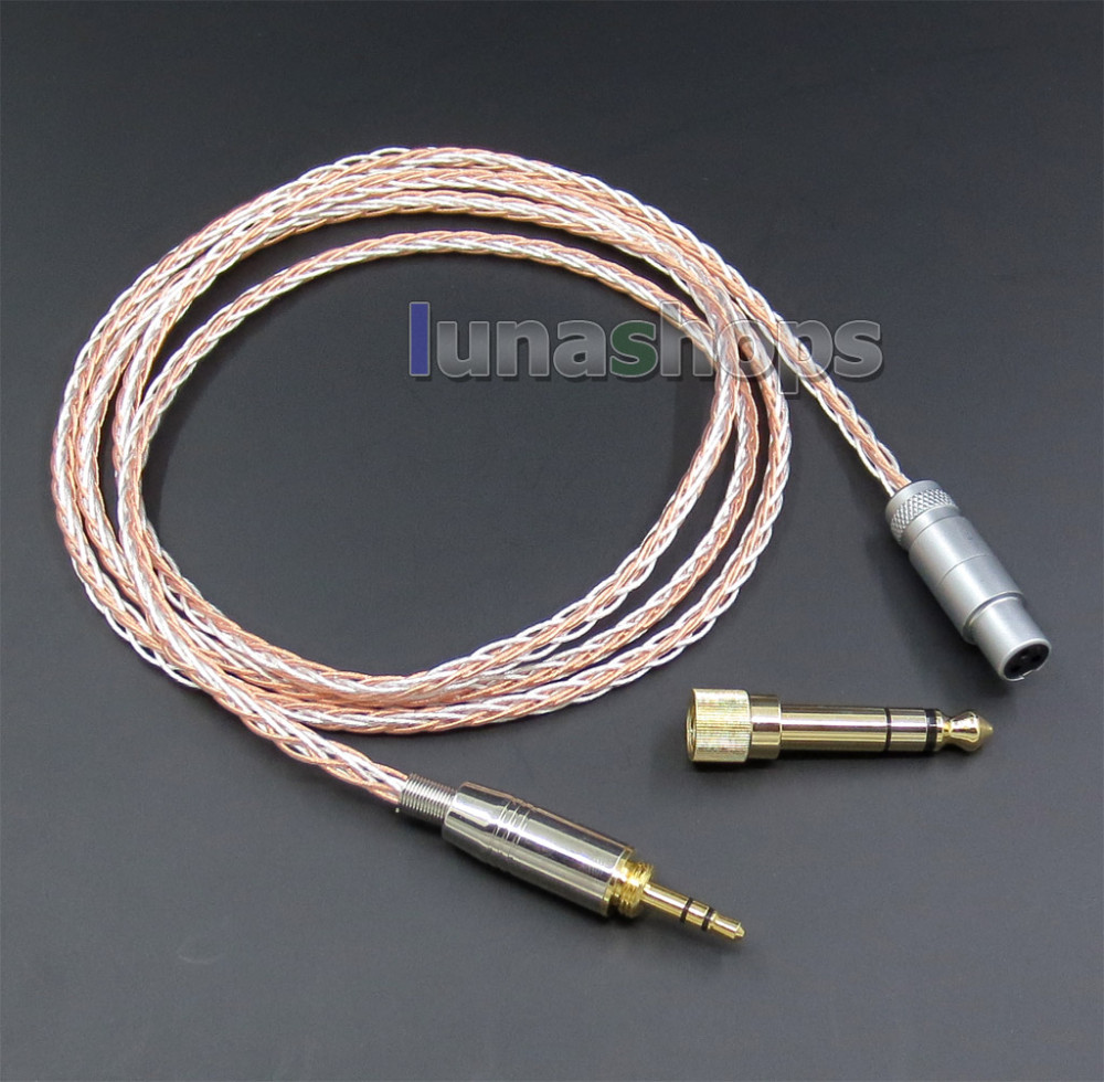 все цены на 800 Wires Soft Silver + OCC Alloy Teflo AFT Earphone Cable For AKG Q701 K702 K271s 240s K271 K272 K240 K141 K171 K181 K LN05424 онлайн