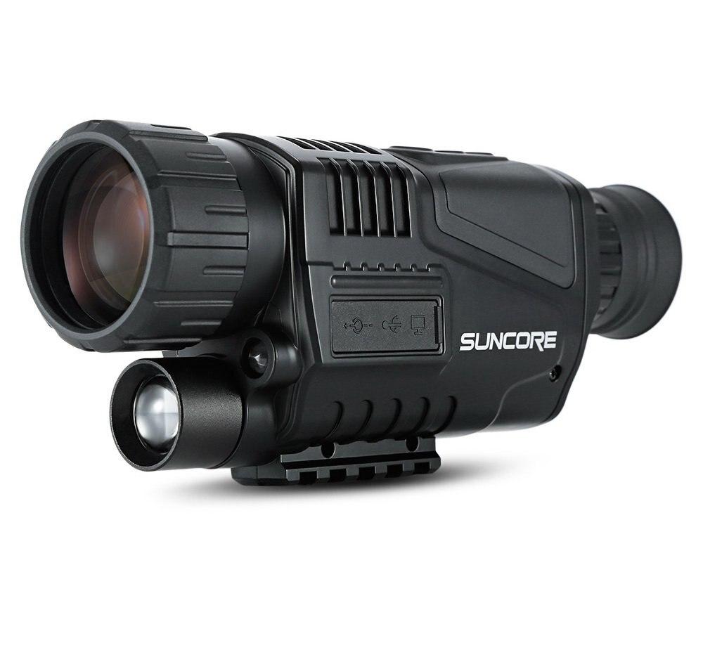 Охота ночное видение Сфера бинокль 5x40 инфракрасная цифровая камера с высоким увеличением с видео выход ночное видение Охота