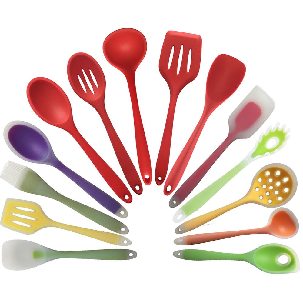 new kitchen cooking tools coated nylon and silicone
